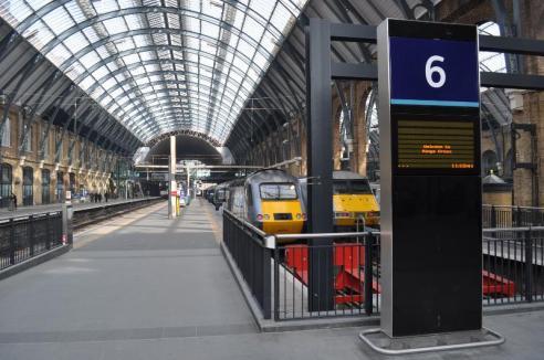 Image result for kings cross station platform 6